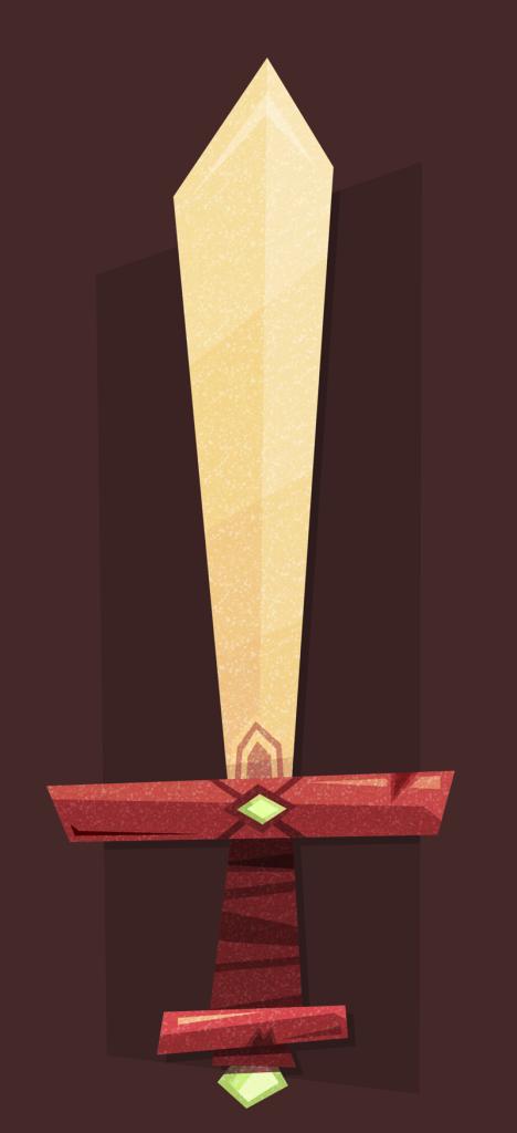 Cool sword!