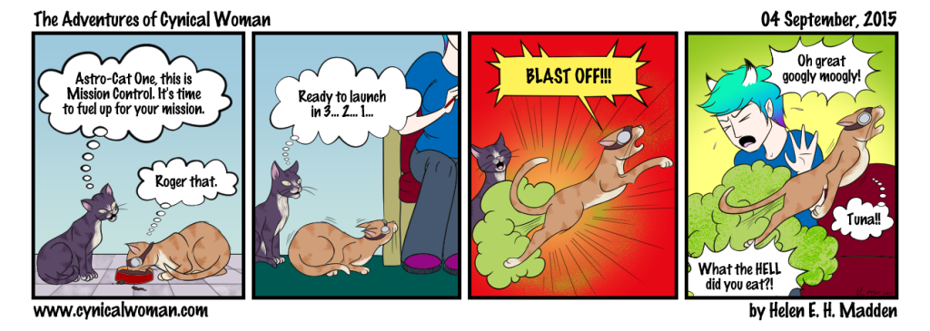 Stinky webcomic!
