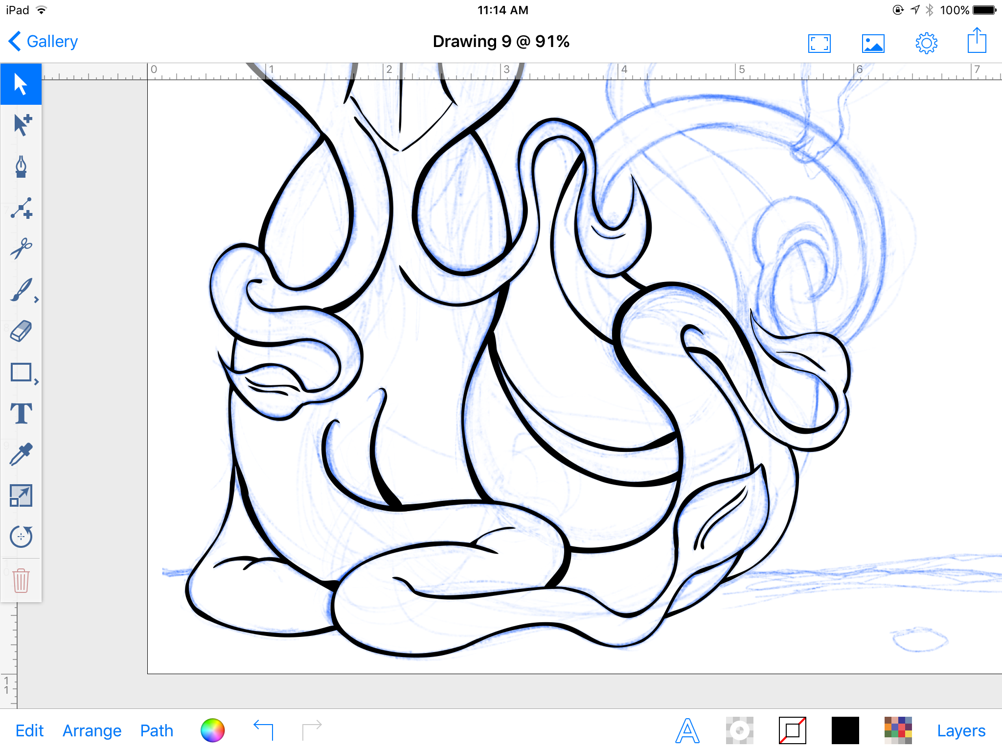 Mermaid tentacles!