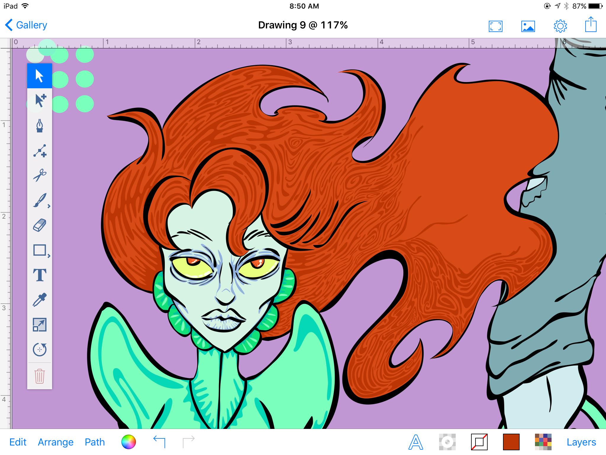 Swirly whirly!