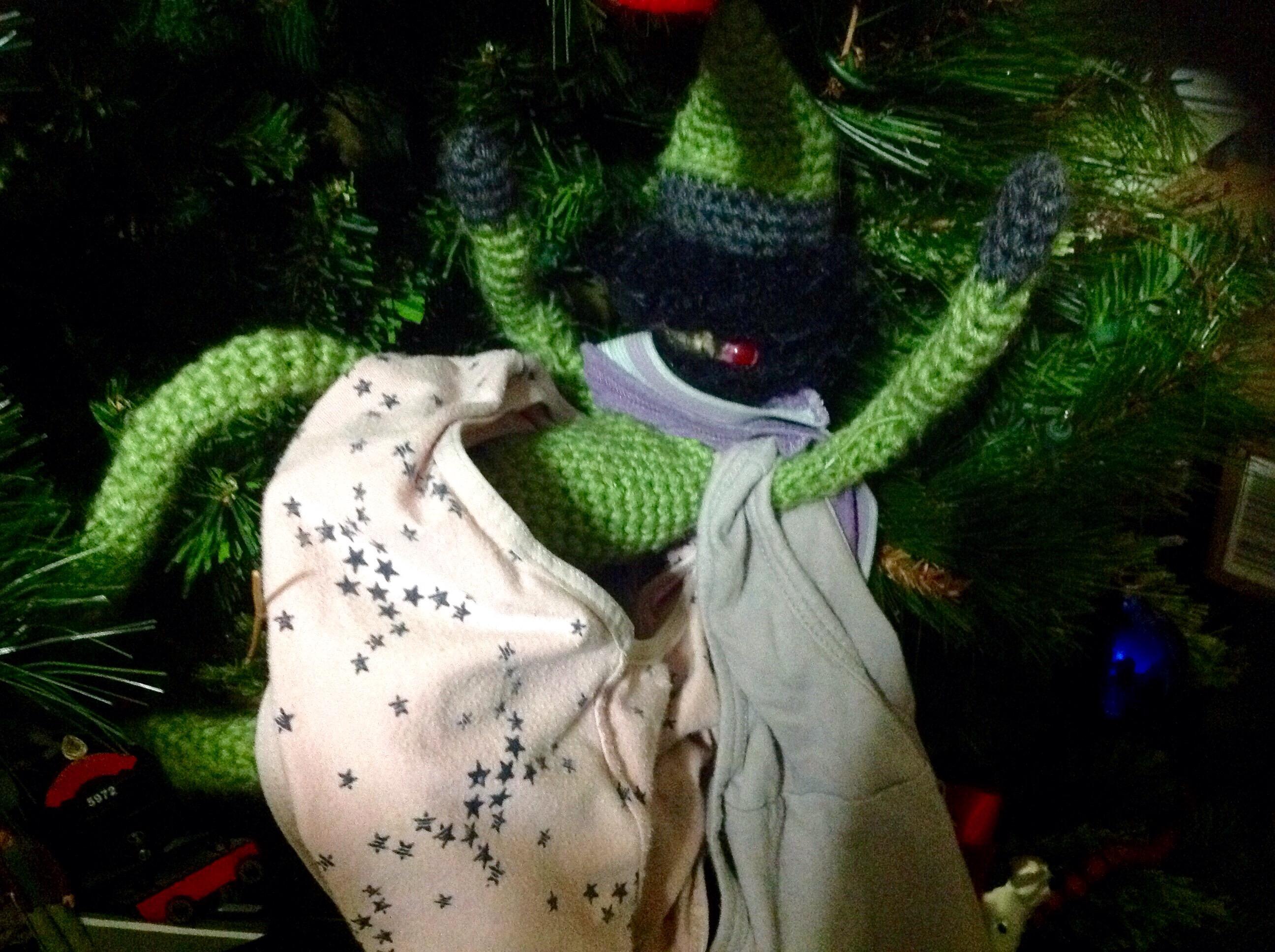 Green Krampus