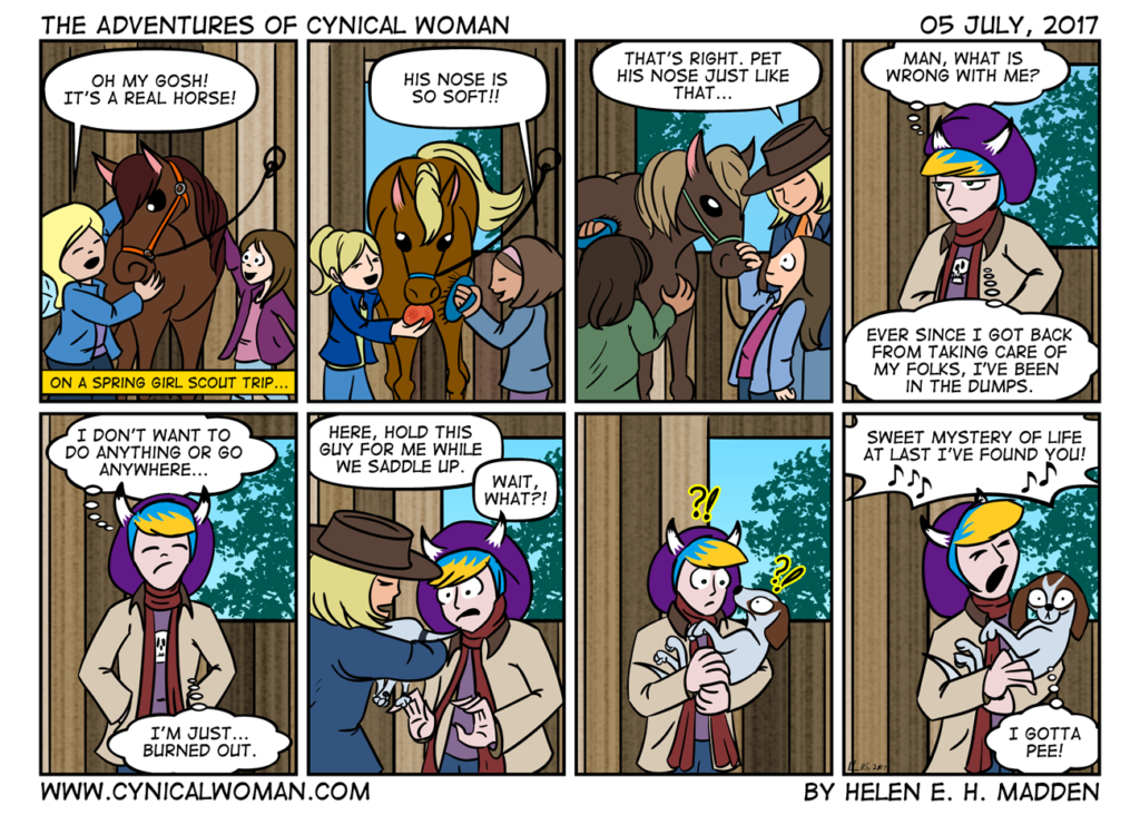 The Adventures of Cynical Woman